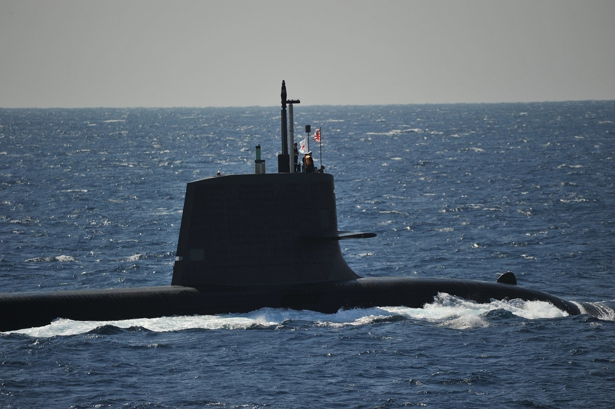 US Navy Diesel Submarine