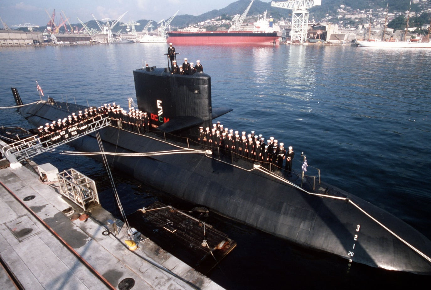 USS Barbel History