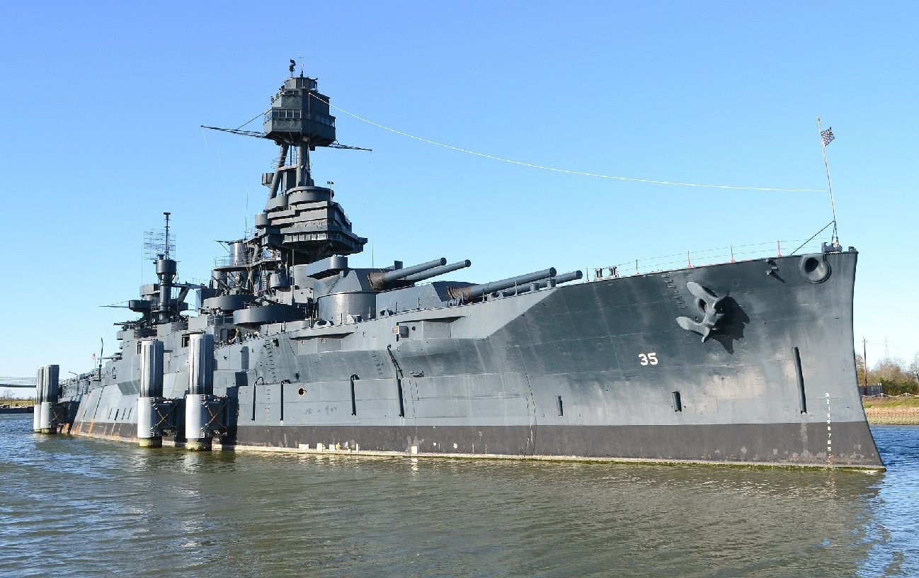 USS Texas Labor Day