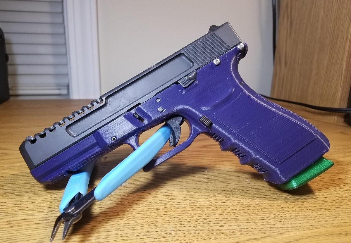 3D-Printed Glock Guns