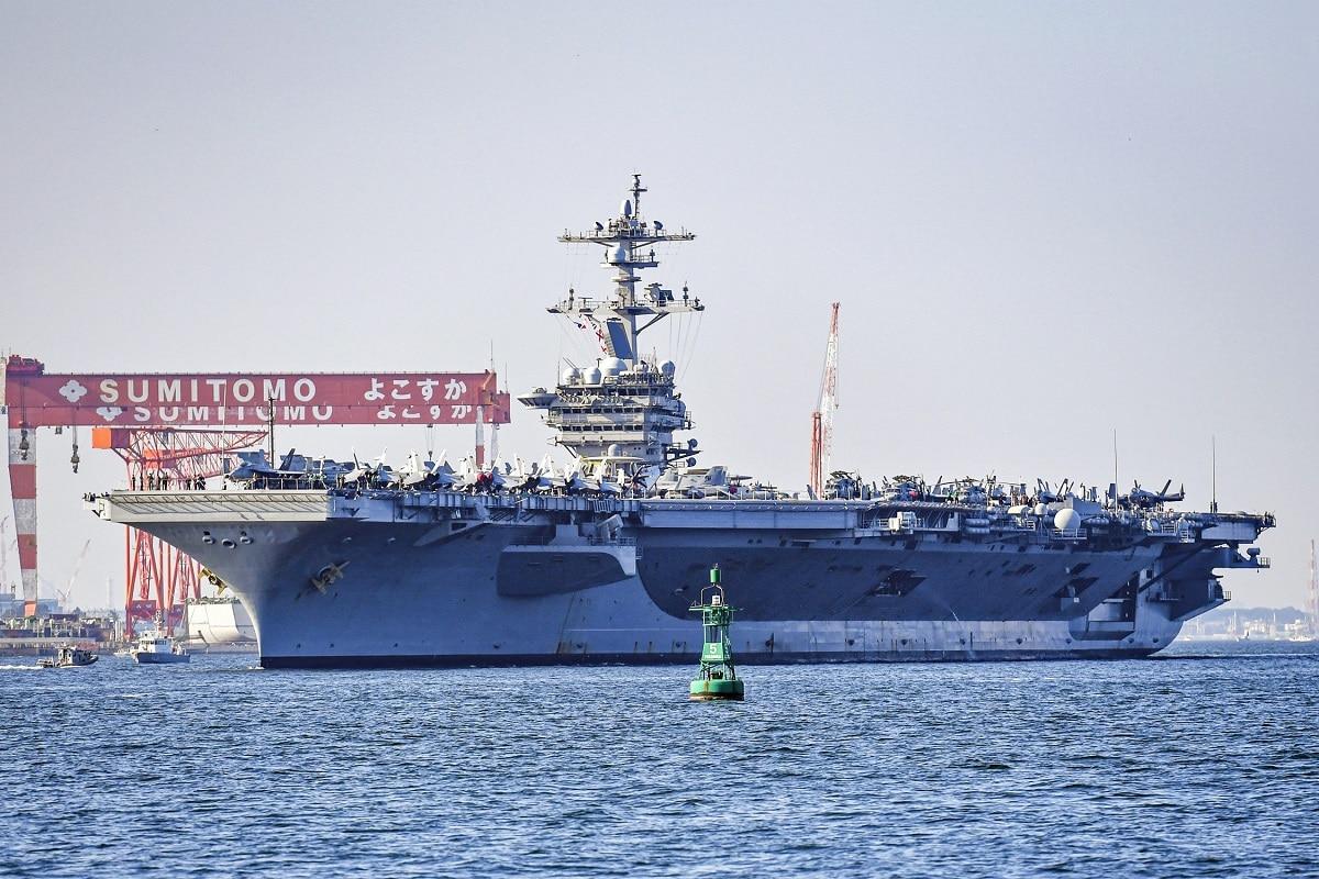 USS Carl Vinson South China Sea