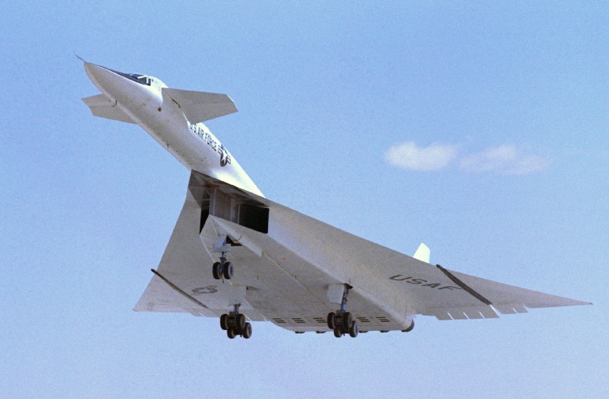 B-70 Valkyrie Supersonic Bomber