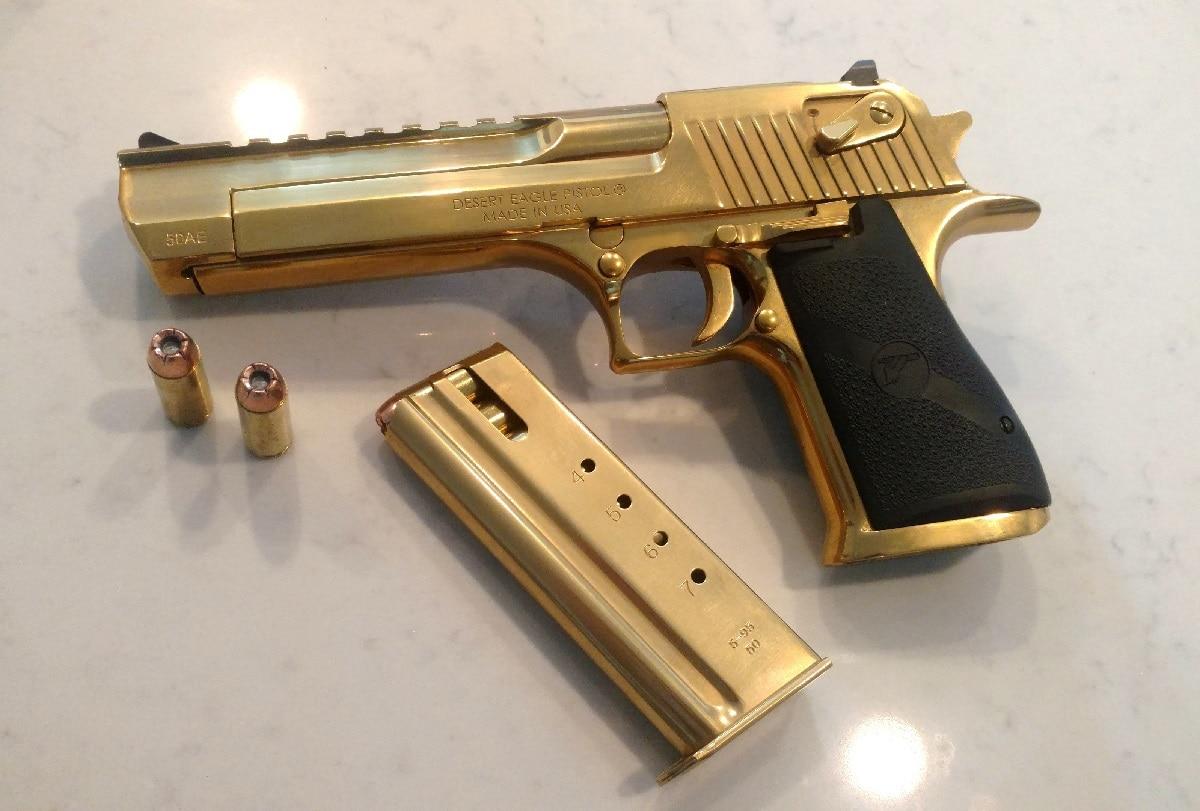 Desert Eagle Gun .50 Caliber