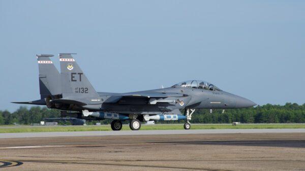 F-15E GBU-31 Joint Direct Attack Munition