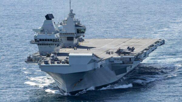 HMS Queen Elizabeth South Korea