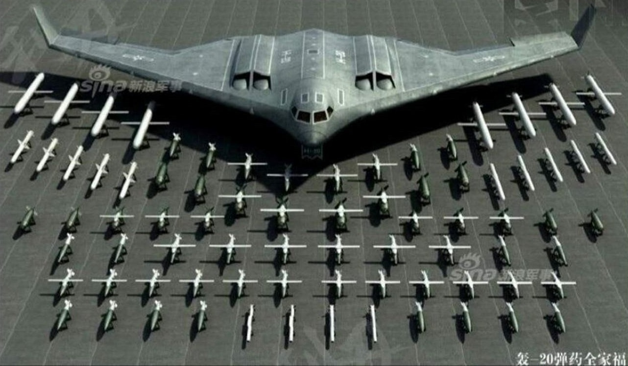 JH-XX Stealth Bomber