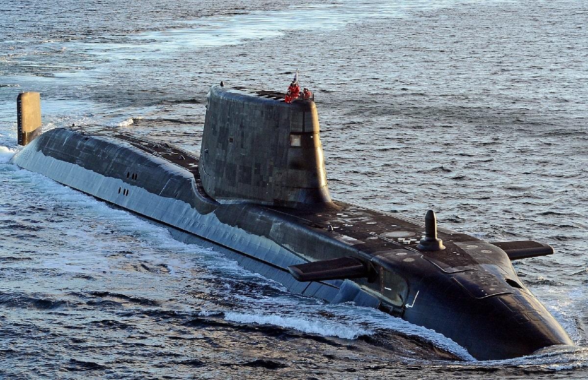 Royal Navy New Submarine