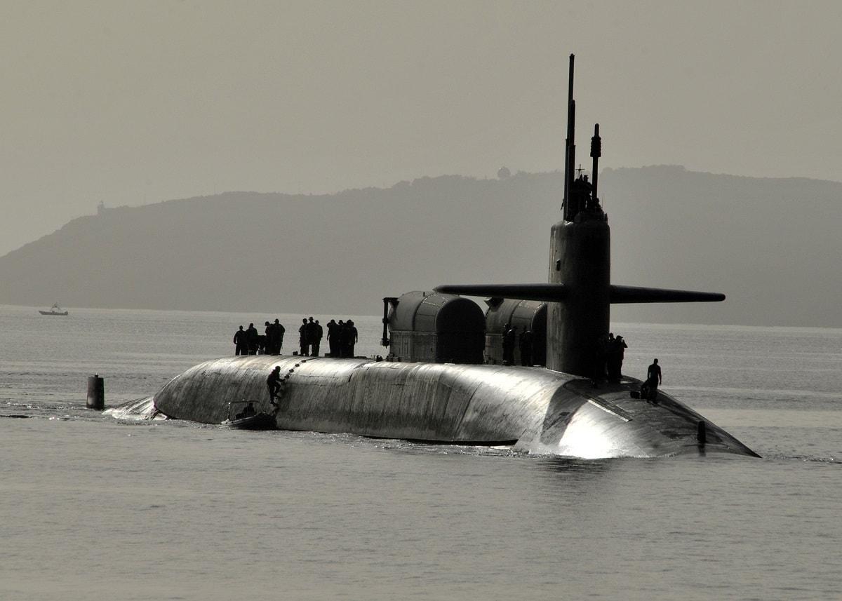 2010 US Navy Submarines Surfacing