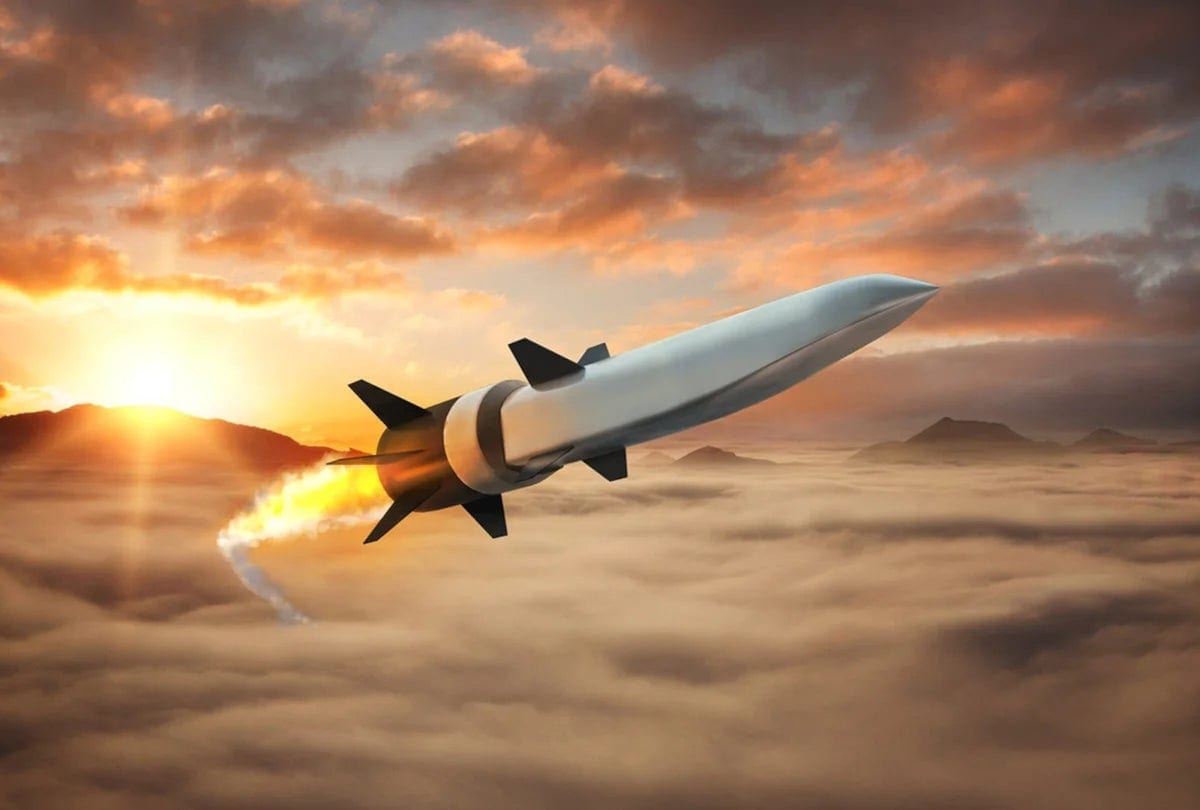 Scramjet Powered Hypersonic Weapon