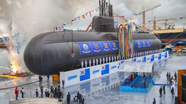 South Korea Submarine-Launched Ballistic Missile