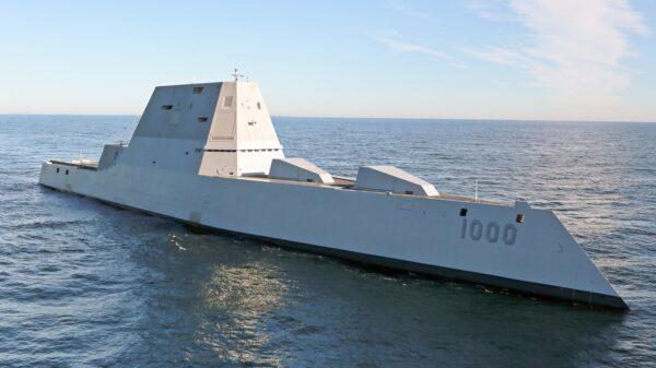 Last Zumwalt-class Destroyer