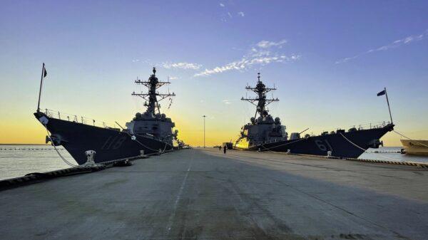 U.S. Navy War China Russia