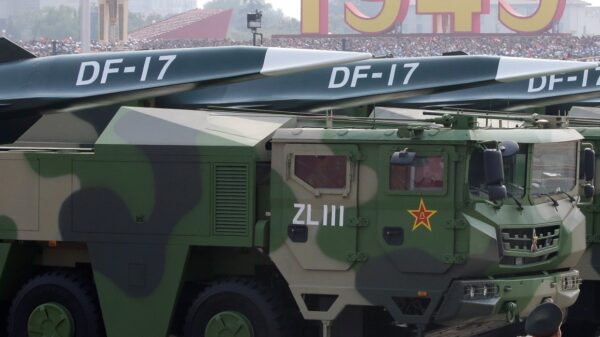 China's Nuclear-Capable Hypersonic Missile