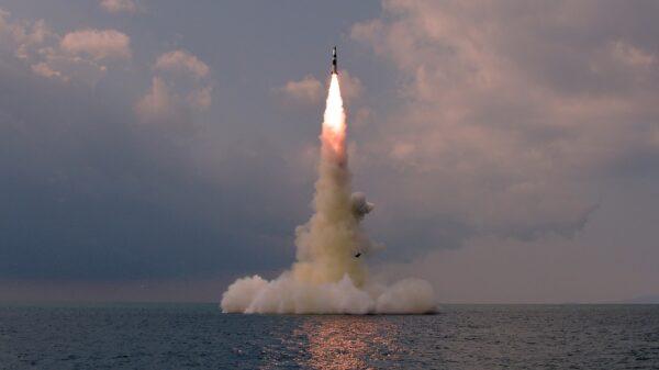 North Korea Tested Submarine-Launched Ballistic Missile