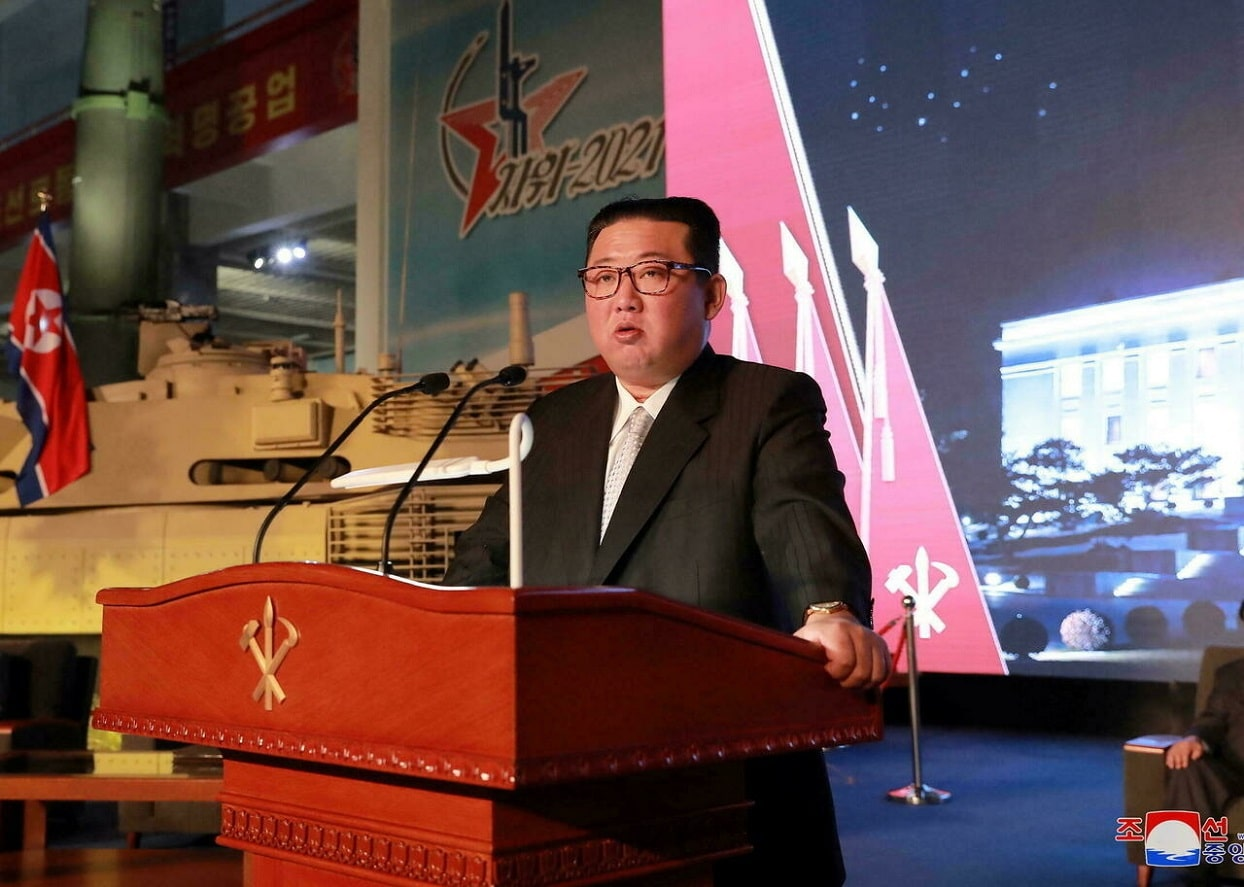 North Korea's Missile Exhibition
