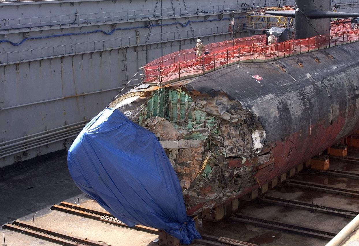 Nuclear Submarine Crash