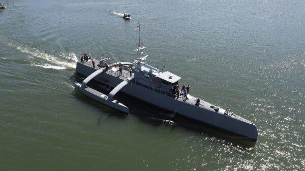 China Drone Warship