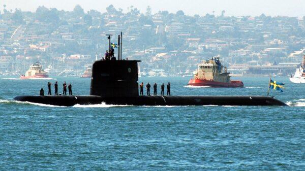 Sweden Nuclear Submarine